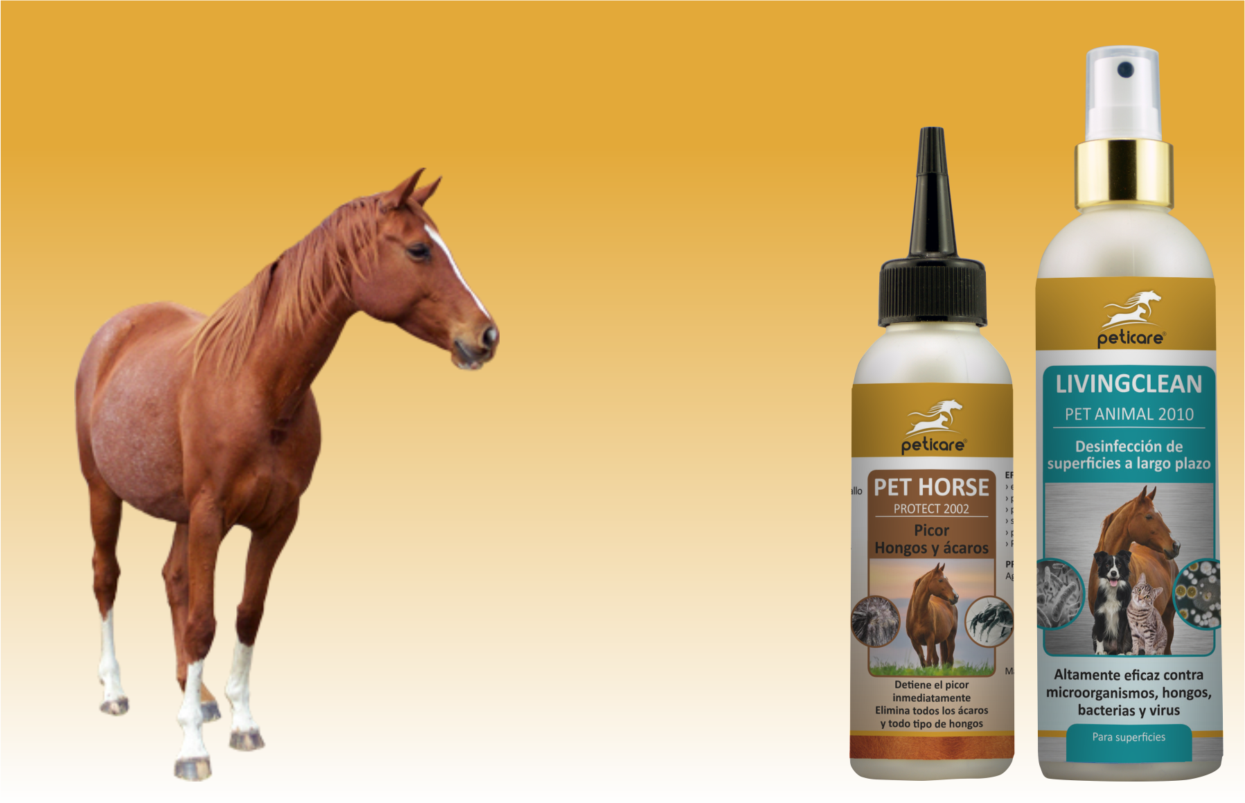 peticare SET Horse - Mites and disinfection